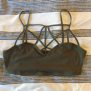 Express One Eleven Caged Bralette